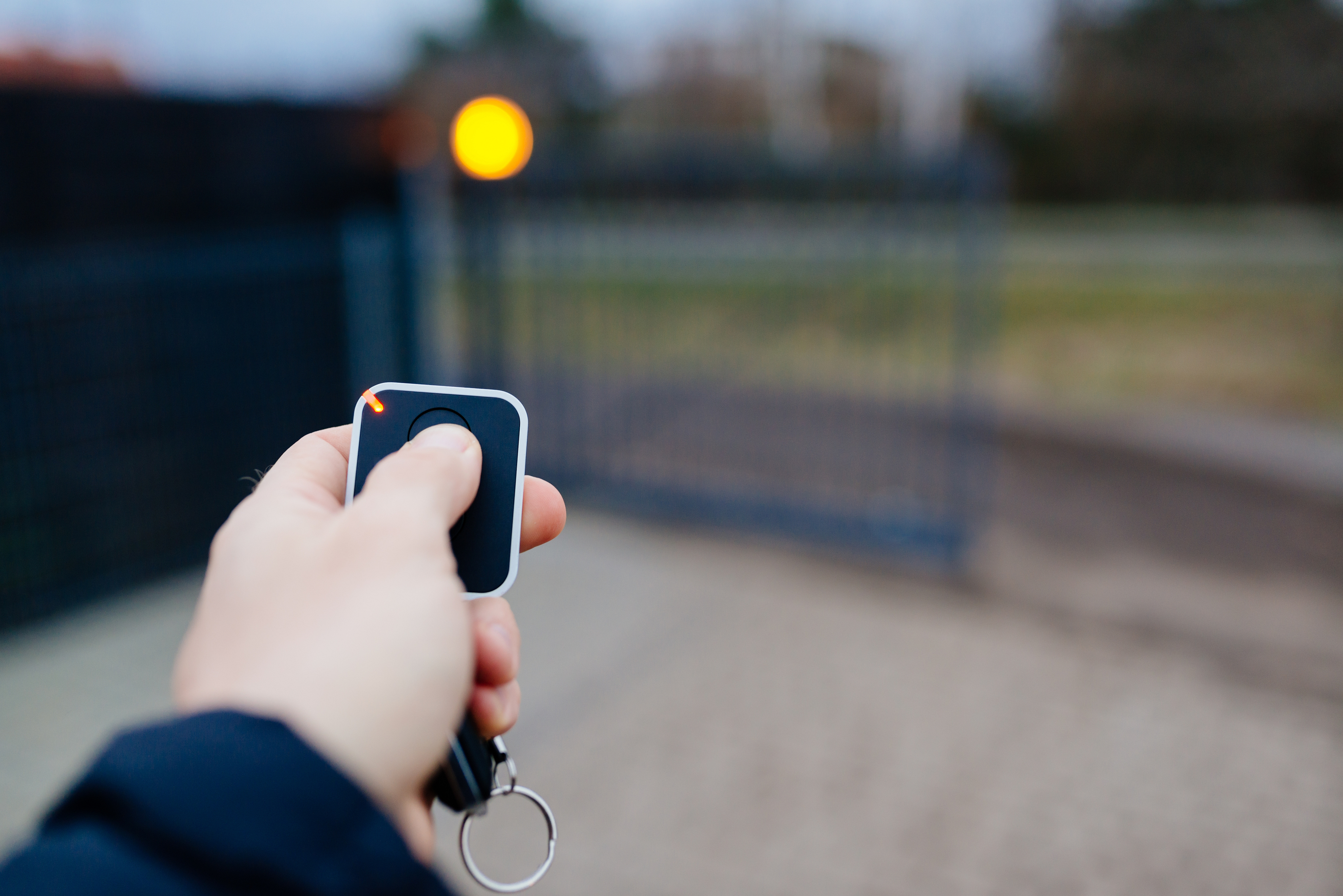 ouverture portail nice par smartphone
